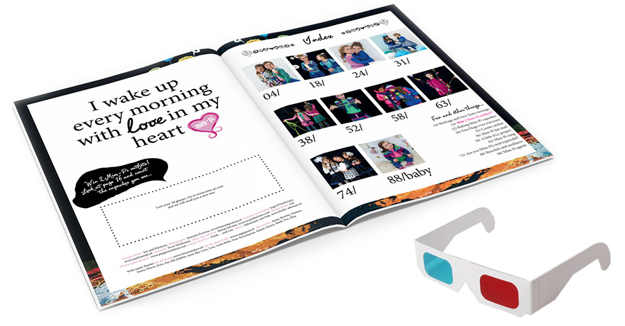 Mim-Pi magazine collection Winter 2012