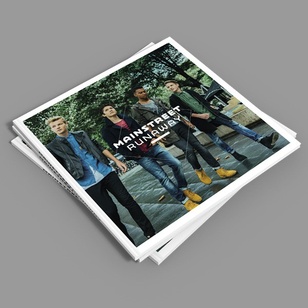 CD artwork design voor Mainstreet