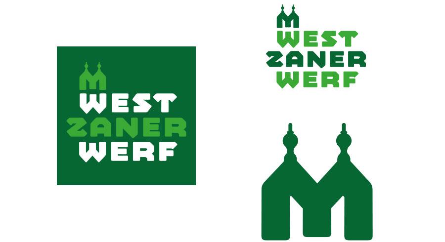 Logo design voor Westzanerwerf tijdelijk buurt initiatief