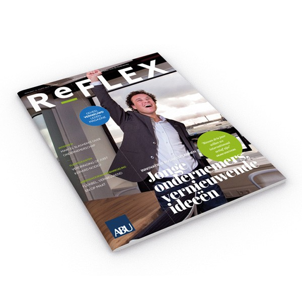 ABU Reflex magazine restyle